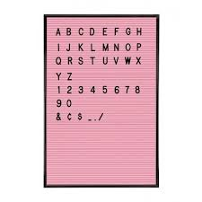 jay pink letter board with 286 letters numbers p6908 image