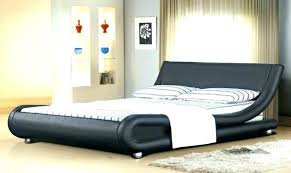 ireland king faux leather bed white with genuine size soft modern design frame for queen
