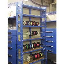 wire spool rack unit 36x8x84 py