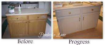 Kitchen Island Makeover How To Apply Beadboard Wallpaper To Kitchen Island Beadboard