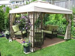 Backyard Design Ideas On A Budget simple garden gazebo design inexpensive backyard ideascheap