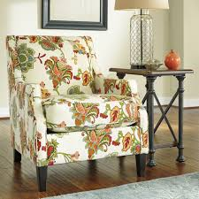 Patterned Chairs Living Room Furniture Accent Chairs With Arms For Living Room Red Accent In