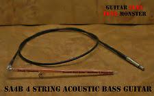 piezo pickup bass tone monster sa4b acoustic bass guitar piezo under saddle transducer ust pickup