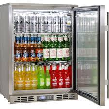 lovely stainless steel bar fridge glass door f34 in wow home decor ideas with stainless steel bar fridge glass door