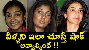tollywood es without makeup telugu celebrity intended for celebrities