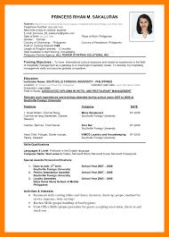 6 Best Resume Format Pdf Appeal Leter