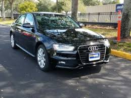 black audi a4 2015. Simple Black Black 2015 Audi A4 Premium For Sale In Orlando FL D