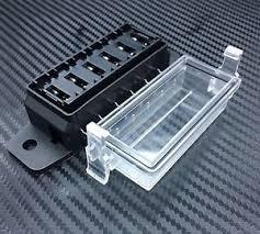 1pc 6 way dc32v 12v circuit blade fuse box block fuse holder mini mini blade fuse boxes holder at Mini Blade Fuse Box