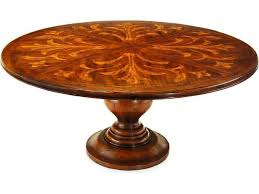 72 round pedestal dining table