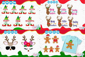 Christmas Mini Bundle 21 Items Graphic By Cute Files Creative Fabrica Christmas Minis Christmas Packaging Creative