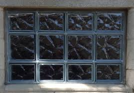 glass block window view all