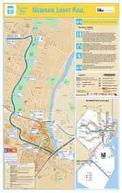 Grove Street Light Rail Parking Subway Newark Metro Map United States