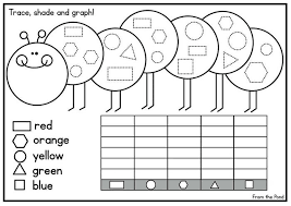 Preschool Charts And Graphs 10 Easy Graphing Worksheets Picture Graph Kindergarten