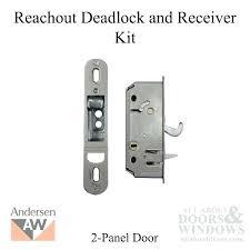 anderson sliding door handle sliding door lock deadlock and receiver assembly kit 2 panel gliding door anderson sliding door handle