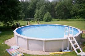 Fiberglass Above Ground Swimming Pools For Small Places Home Xmas