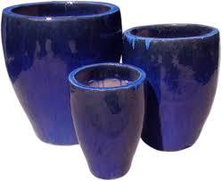 outdoor glaze pottery garden pots planter nc5080