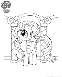 Small Picture Exciting Images Of My Little Pony Girls Rarity Coloring Pages