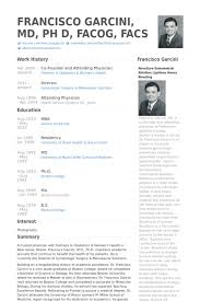 General Physician Cv Template Example Good Resume Template