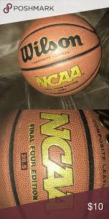 women s size final four edition basketball used once or twice wilson composite leather wilson other