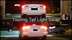 2018 Honda Accord Brake Lights 2018 2019 Honda Accord Touring Tail Light Swap Install