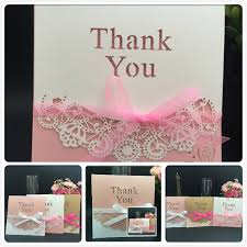 Electronic Thank You Card Free Hot Selling Wholesale Thank You Cards Modern Designs Thank You Card Dhl In Low Price Diy Wedding Invitation Electronic Wedding Invitations From