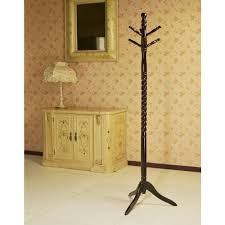 frenchi home furnishing cherry hook coat rack the racks wood with umbrella stand green coach purse