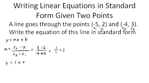 graphing standard form linear equations worksheets of algebra ck foundation thumb