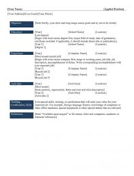 Types Of Resumes Resume Templates Ideas Three Formats Best Template