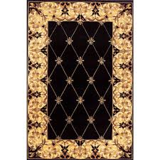 maison on ewell black 4x6 4x6 black chinese hand tufted antiques rugs 100 wool fiber