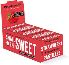 Peppersmith Strawberry Vanilla <b>Sweets 100</b>% <b>Xylitol</b>-<b>Sweetened</b> ...