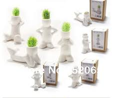 diy office gifts. Free Shipping 10pcs+ Magic DIY Grass Bonsai White Man Office Desk Decoration Plant Home Decoration-in From \u0026 Garden On Aliexpress.com Diy Gifts (