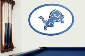 detroit lions wall art detroit lions 3d wall art
