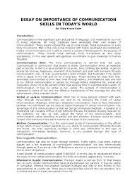 communication essay examples co communication essay examples