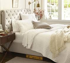 upholstered beds for sale. Contemporary Beds Candace Rose Pottery Barn CHESTERFIELD UPHOLSTERED BED U0026 HEADBOARD Pottery  Barn Best Selling Upholstered Beds Sale In Upholstered Beds For Sale