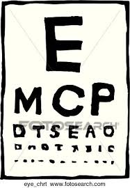 Eye Chart Clip Art Eye_chrt Fotosearch
