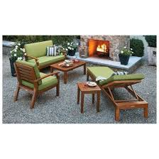 brooks island wood patio furniture