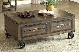 industrial style coffee table ikea