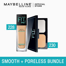 fit me ultra smooth matte poreless bundle by maybelline