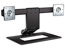 Hp Adjustable Dual Display Stand HP Adjustable Dual Display Stand AW41AA HP® Canada 1