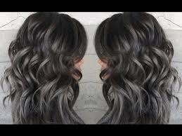 Gray Hair Color Chart Metallic Pearl Gray Hair Color Ideas