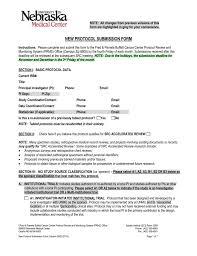 University Hospital Doctors Note Src New Project Form University Of Nebraska Medical Center