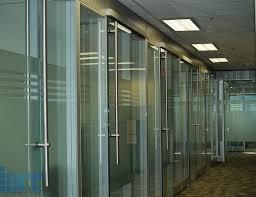 office sliding door. frameless glass sliding door office s