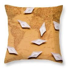 Nautical Chart Pillows Nautical Chart Throw Pillows Fine Art America