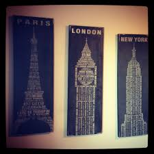 New York Themed Bedroom Decor Pier 1 Paris London And New York Wall Decor For Future Map
