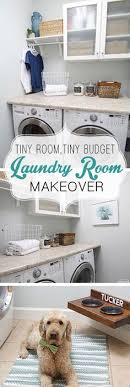 laundry room makeovers charming small. Makeover: Tiny Laundry, Budget Laundry Room Makeovers Charming Small
