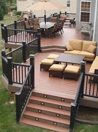 Backyard Decking Designs Simple Stunning Patio Decks That Will Add Charm To Your Life Unique