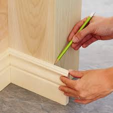mark each trim part for a perfect fit