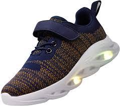 Big Kids Light Up Shoes Aosifu Kids Boys Girls Led Light Up Shoes Casual Walking Shoes Usb Charging Flashing Sneakers For Toddler Little Kid Big Kid