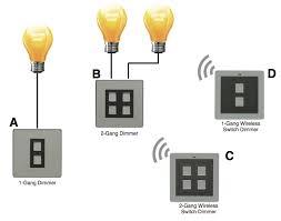 apnt 58 2 way lighting using lightwaverf wireless dimmers Wiring Diagram For 2 Gang Dimmer Switch multi way wiring with the lightwaverf dimmers and wireless switches wiring diagram for 2 gang dimmer switch