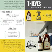 Thieves Oil Dilution Thieves Household Cleaner We Can Oil It